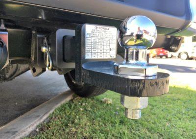 Heavy Duty Towbar on a Toyota