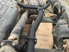 replacing exhaust on 200 Series Landcruiser V8 Diesel
